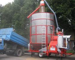 Машины для подготовки(сушки) зерновых к хранению