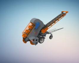 Техника и оборудование для транспортировки и погрузки зерновых