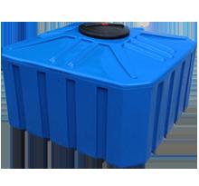 Пластиковые емкости для воды квадратные